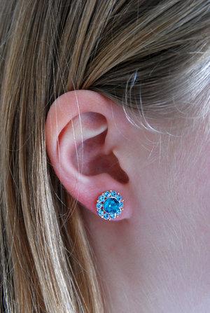 Miss Sofia earrings Indicolite